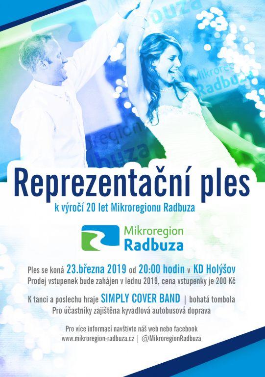 Reprezentační ples  k výročí 20 let Mikroregionu Radbuza