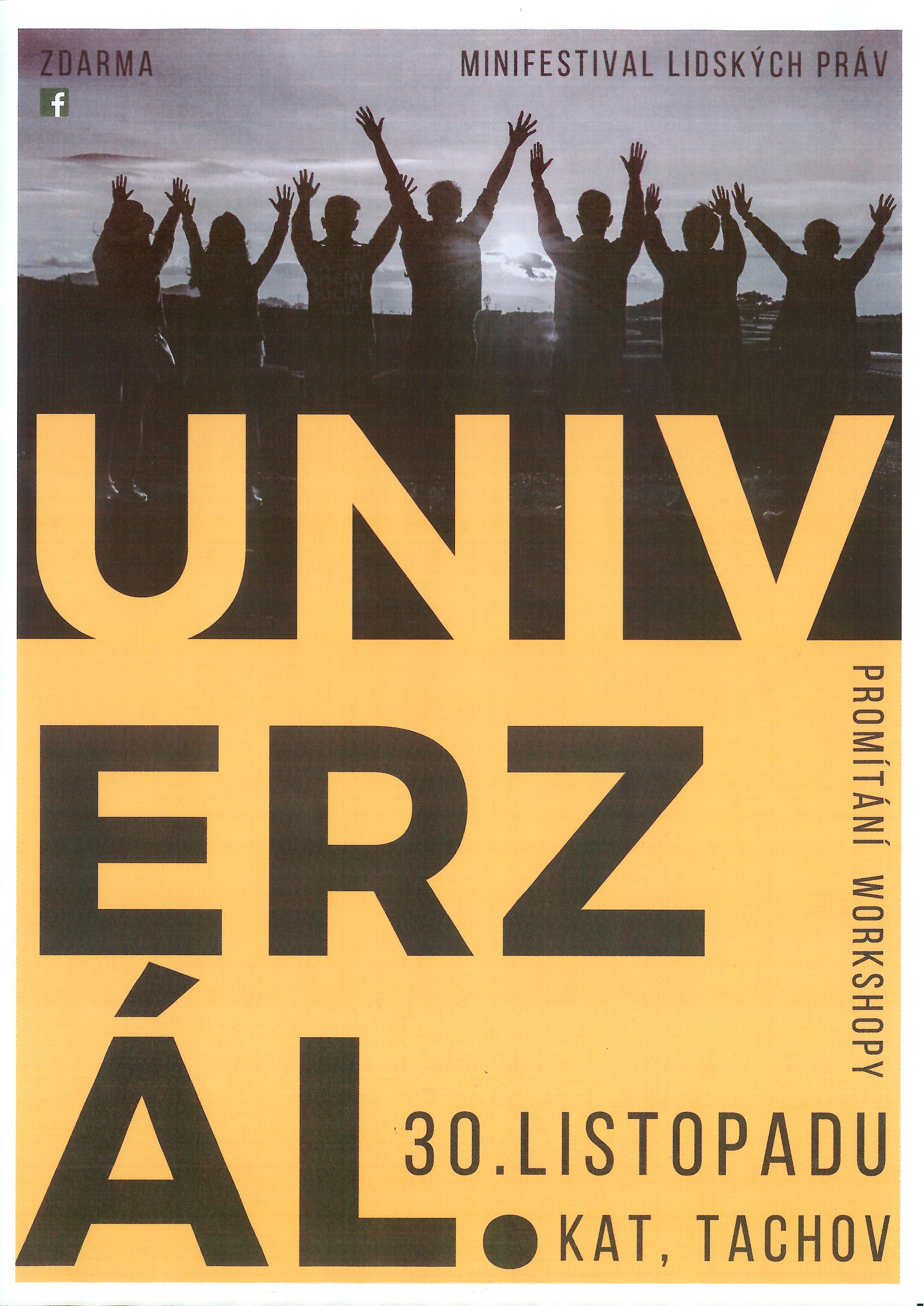 Minifestival lidských práv Univerzál.