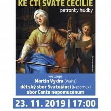9. Benefiční koncert ke cti sv. Cecílie, patronky hudby