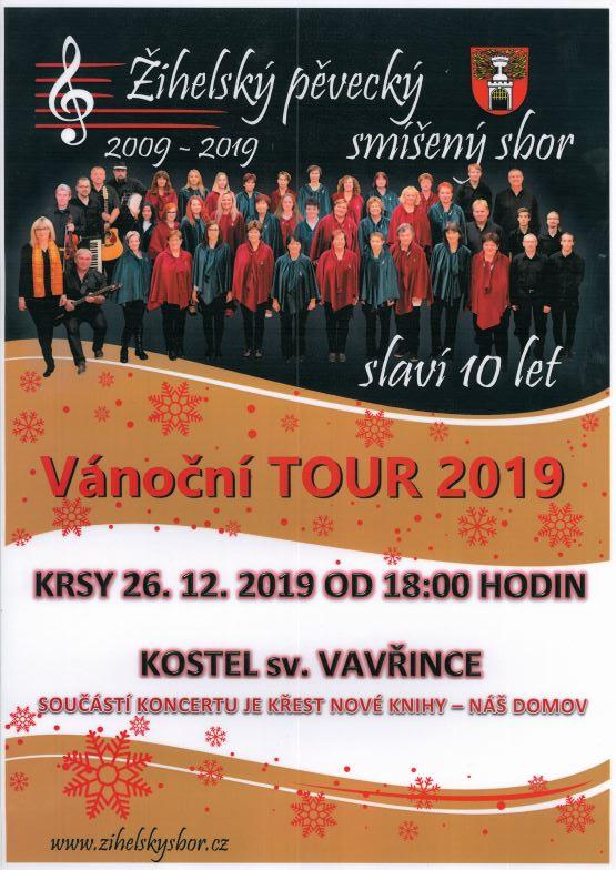 Vánoční TOUR 2019 – Žihelský pěvecký smíšený sbor