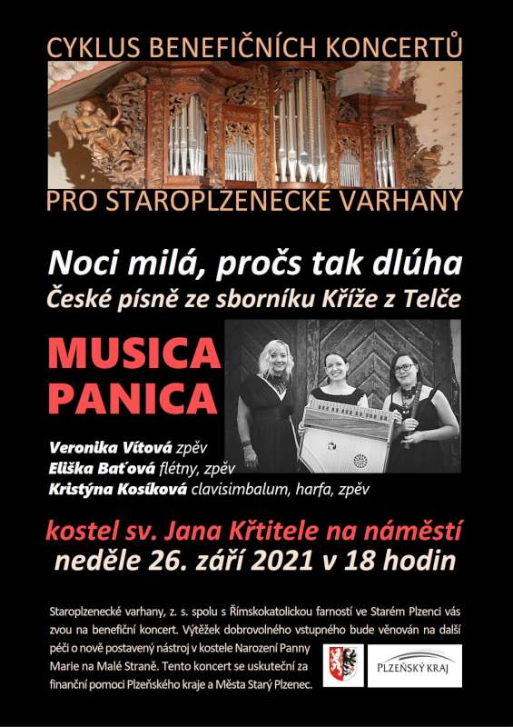 Musica Panica – Koncert pro staroplzenecké varhany